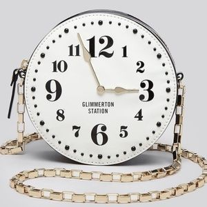 Rare, Glimmer Station Kate Spade Clock Purse